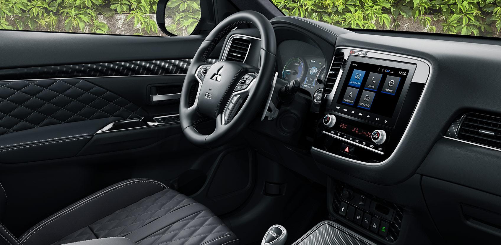Heddier-Gruppe Mitsubishi Outlander Plug-in Hybrid Interieur