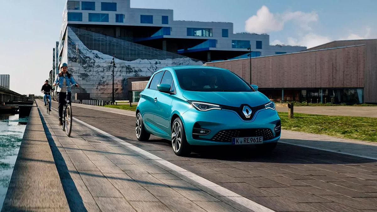 Heddier-Gruppe Renault ZOE