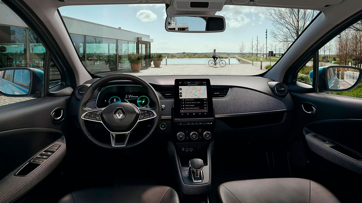 Heddier-Gruppe Renault ZOE Interieur